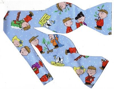Charlie Brown Christmas Bow tie / True Meaning of Christmas / Snoopy & Peanuts