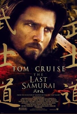THE LAST SAMURAI MOVIE POSTER 1 Sided ORIGINAL Version C 27x40 TOM CRUISE