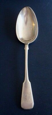 ANTIQUE IMPERIAL RUSSIAN 84 SILVER TABLE SPOON by NIKOLAY PAVLOV 1908-1917 RARE!