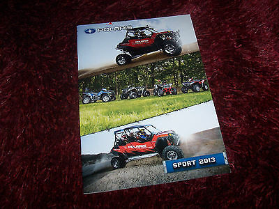 Catalogue  / Brochure POLARIS Sport 2013 //