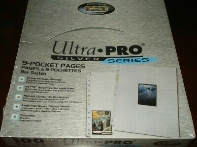 50  Ultra Pro 9 POCKET COUPON SLEEVES PAGE HOLDER