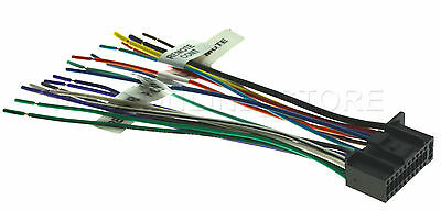 22PIN WIRE HARNESS For Kenwood Kvt-516 Kvt516 *Pay Today ... on
