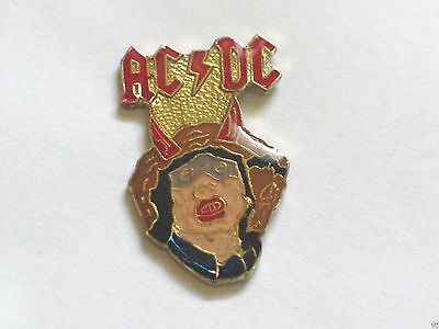 AC DC Vintage Music Group Pin Badge **