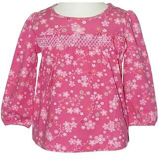 Baby/Toddler Girls Floral Geisha Top