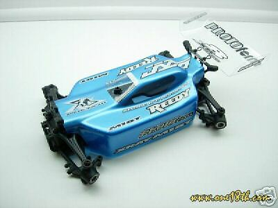 M18B BUGGY BODY FOR  XRAY M18T M18 T by Team Bluegroove RC18T