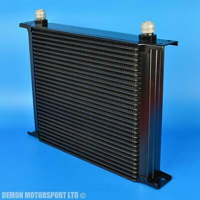 30 Row Oil Cooler Black AN10 -10 10AN Male Aluminium For Competition Motorsport