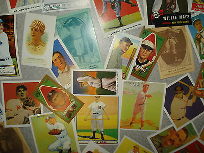 Baseball's All-Time Greats Legends Hall Of Famers All-Stars Famous Classic Cards