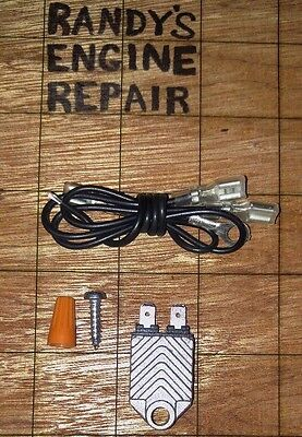 Chainsaw Electronic Ignition - Replace Remove Points & Condenser Conversion Kit
