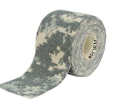 "McNETT CAMO FORM Tape ACU Army Digital Camouflage Fabric Form Wrap 2"" X144"" NEW"