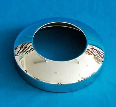 """8"""" Chrome Hubcap With Inspection Hole (7103H-W)"""