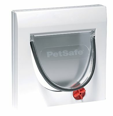 Petsafe Staywell 917 Manual 4-Way Locking Cat Flap With Fixed Tunnel Door & Wall
