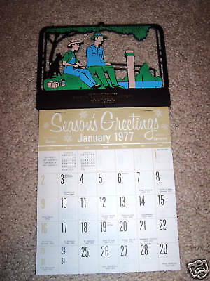 1977 Calender Unused (Gillette Commerical Laundry) Wy.