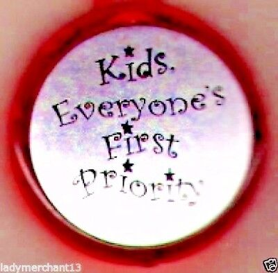 """""""Kids Everyone's First Priority"""" LED Flashlight Keytags/Wholesale Lot of 20/NEW!"""