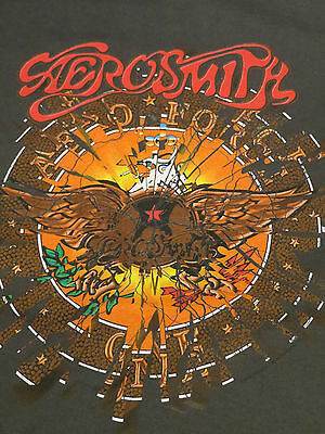 Vintage 1987 AREOSMITH AREO FORCE one concert tour shirt