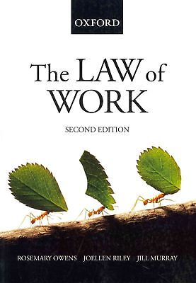 The Law of Work by Rosemary Owens Paperback Book (English)