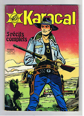 Karacal N°2  Sagedition 1976