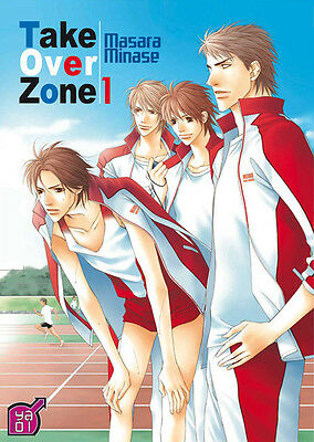 TAKE OVER ZONE tome 1 Masara Minase Ya Oi Boy's Love MANGA yaoi
