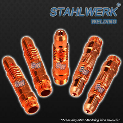 Torch Collet Bodies 2.4 mm for WP TIG Torch Packages - 5 pieces (AC DC/ TIG/ CT)