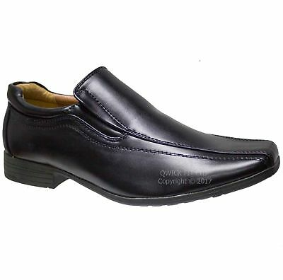 Mens Boys Slip On Formal Office Work Shoes Wedding Prom Party Leisure Shoes Size