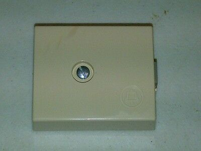 Western Electric 42A Connecting Block-Ivory-Hard Wire/Modular-Bell System Logo