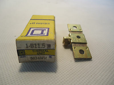New In Box Square D 1-B11.5 Thermal Unit