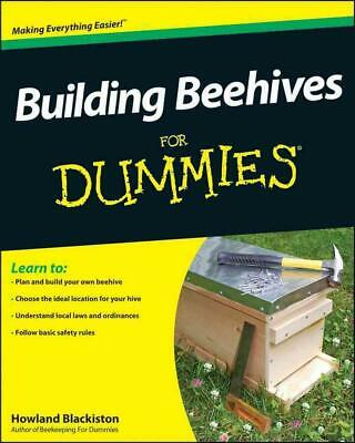 Building Beehives for Dummies by Howland Blackiston (English) Paperback Book Fre