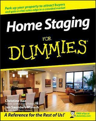 Home Staging for Dummies by Christine Rae (English) Paperback Book Free Shipping