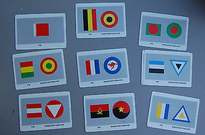 MINT International Military Aircraft Markings Cards