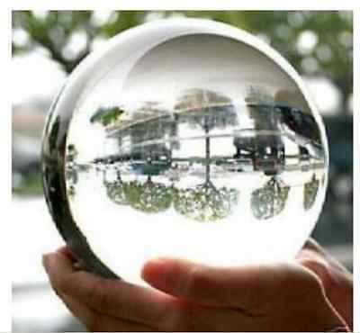 HOT SELL HUGE ASIAN QUARTZ CLEAR CRYSTAL BALL SPHERE 100MM STAND