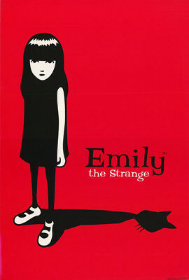 Poster : Emily The Strange - Free Shipping !    #st3088  Rc51 T