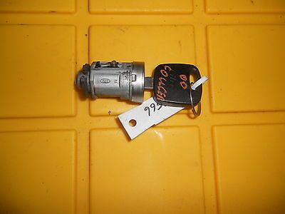 95 00 FORD COUGAR DOOR LOCK WITH KEY B28 *