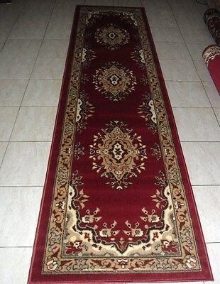New Persian Design Floor Hallway Runner Rug 80X300Cm