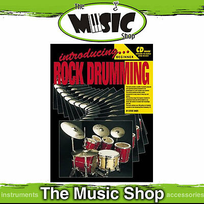 New Progressive Introducing Rock Drumming - Book & CD by Steve Shier