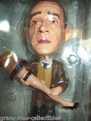 """HEADKNOCKER """"""""THE OLD MAN WITH HIS LAMP"""""""" FROM A CHRISTMAS STORY 9 INCHES HIGH"""
