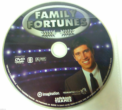 Family Fortunes Interactive DVD - DISC ONLY in Plastic Sleeve