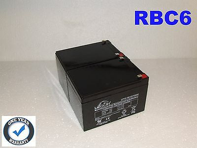 UPS Battery Kit - Direct Replacement for APC RBC6