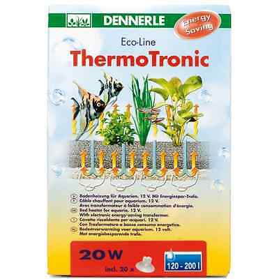 Dennerle ThermoTronic 20 Watt Thermo-Tronic Kabelheizung Bodenfluter Aquarium