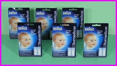 * 240 Braun ThermoScan Lens Filters LF-40 Covers LF40 Baby Ear Thermometer NEW *