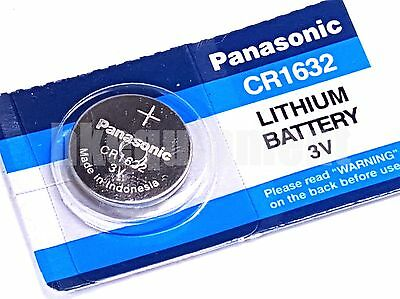 Panasonic CR1632 BR1632 ECR1632 DL1632  L1632 CR BR 1632 Coin Watch Battery x1