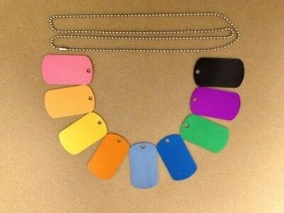 Personalized Aluminum Luggage Tags Engraved Dog Tag  CUSTOM ENGRAVING
