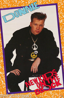 Poster:music:new Kids On The Block - Donnie  Wahlberg - Free Ship  #3272 Rap19 B