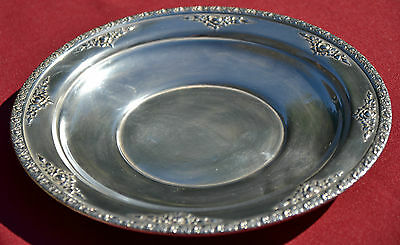 Sterling Silver Service Tray or Charger - Wallace - Normandie - No monograms