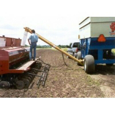 """Hydra Fold Gravity Wagon Auger 6"""" x 14' With Adjustable Hopper HF-614"""