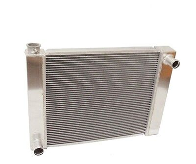 "Universal Ford/Mopar Fabricated Aluminum Radiator 22"" x 19"" X 3'' Overall"