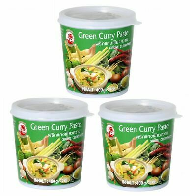 (5,73€/1kg) AKTION [ 400g ] COCK Grüne Currypaste / Green Curry Paste