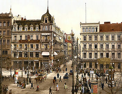 Print & Sell - VINTAGE EUROPEAN STREET SCENES High Resolution Colour Images!