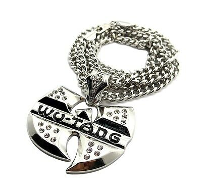 """New Iced Out Life after BIG death Pendant w//6mm36/"""" Cuban Link Chain Necklace"""