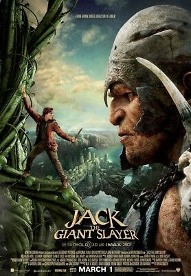 JACK THE GIANT SLAYER MOVIE POSTER 2 Sided ORIGINAL Ver B 27x40 NICHOLAS HOULT