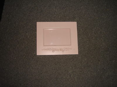 Wendy Bellissimo Vintage Teaberry Picture Frame Rare