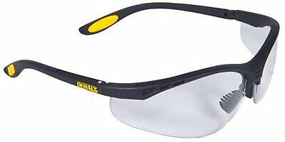 Dewalt DPG58-1C Reinforcer Clear Lens High Performance Protective Safety Glasses